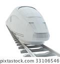 火车 特快 白色 33106546