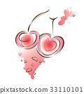 樱桃 矢量 矢量图 33110101