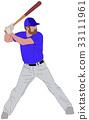 baseball player detailed illustration 6 33111961