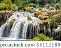 Krka waterfalls, croatian national park, Croatia 33112189