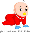 baby, cartoon, pacifier 33113330