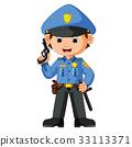 cute policeman cartoon 33113371