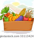 Farm Vegetables Basket 33113424