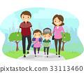 Stickman Family Walk Park 33113460
