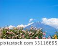 富士山 蓝天 蓝蓝的天空 33116695