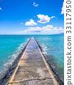 Waikiki Beach Jetty - Oahu, Hawaii 33117950
