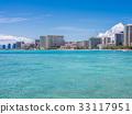 Waikiki Beach -Oahu, Hawaii 33117951