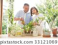ทำสวน,คู่สามีภรรยา,วิถีชีวิต 33121069