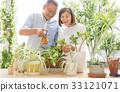 ทำสวน,คู่สามีภรรยา,วิถีชีวิต 33121071