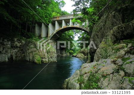 岩手县住田镇Hayama玻璃桥 33121395