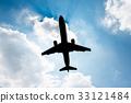 飞机 天空 蓝天 33121484