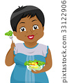 Senior Girl Salad Bowl 33122906