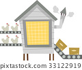 Chicken Processing Factory 33122919