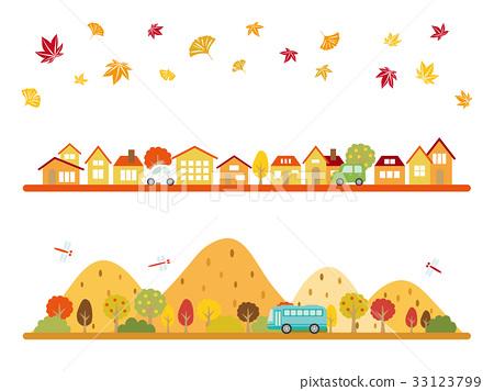cityscape, autumn, autumnal 33123799