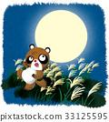 貉 滿月 日本蒲葦 33125595