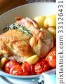 닭고기, 닭고기 요리, 소테 33126431