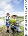 水稻種植圖像稻農 33126472