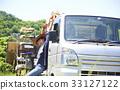 在米種植卡車床上的婦女休假 33127122