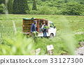 agriculture experience, rice planting, lightweight truck 33127300