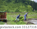 水稻種植 農活 輕型卡車 33127316