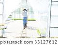 seeding, farmwork, straw hat 33127612