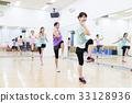 有氧運動健身健美操健身房婦女行使 33128936