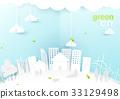 绿色 生态 城市 33129498