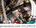 vintage electronic board 33129532