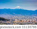 Kofu, Japan with Mt. Fuji 33130786