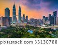 Kuala Lumpur Skyline 33130788