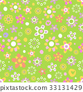 seamless, green, pattern 33131429