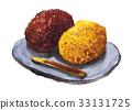 wagashi, japanese, confectionery 33131725