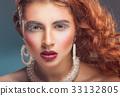 Beautiful woman 33132805