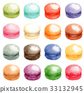 macaroon, colorful, colorfull 33132945