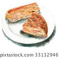 2個餡餅片 33132946