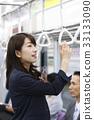 """통근, 통학 이미지 촬영 협조 """"게이오 전철 주식회사 ' 33133090"""