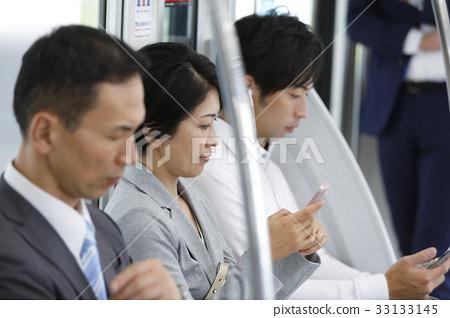 """通勤,學校形象攝影合作""""京王電鐵株式會社"""" 33133145"""