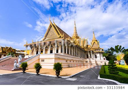 Royal Palace in Phnom Penh, Cambodia. 33133984