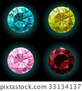 diamond, vector, icon 33134137
