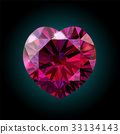 jewelry ruby vector 33134143