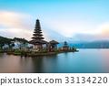 Ulun Danu Beratan Temple, Bali ,Indonesia. 33134220