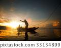 Fisherman in Thailand 33134899