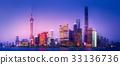 Shanghai skyline cityscape 33136736