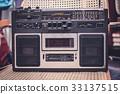 cassette recorder / audio player - 80s radio 33137515