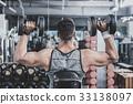 健身房 運動員 儀器 33138097