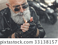 摩托車 打火機 坐 33138157