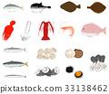 海鲜 海产品 一套 33138462