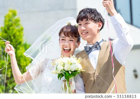 ภาพแต่งงานลูกโป่ง 33138813