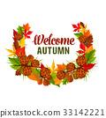 秋天 秋 叶子 33142221