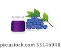 blueberries, blueberry, fruit 33146948